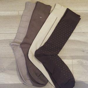 Other - 4 Pair Soft Bamboo Men's Sock Assortment
